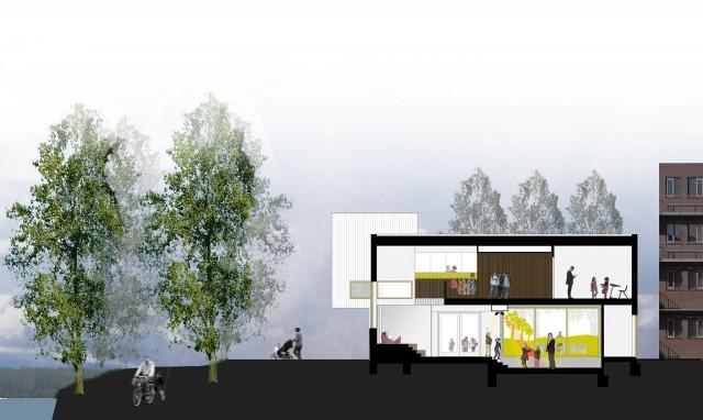 De Dijk Basisschool Groningen architecten
