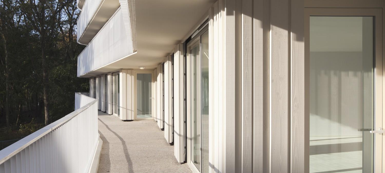 Nieuw Overbos balkon