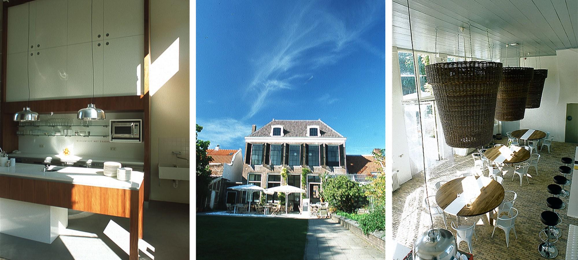 Zaadhuis museumcafé, Utrecht © drost + van veen architecten bv