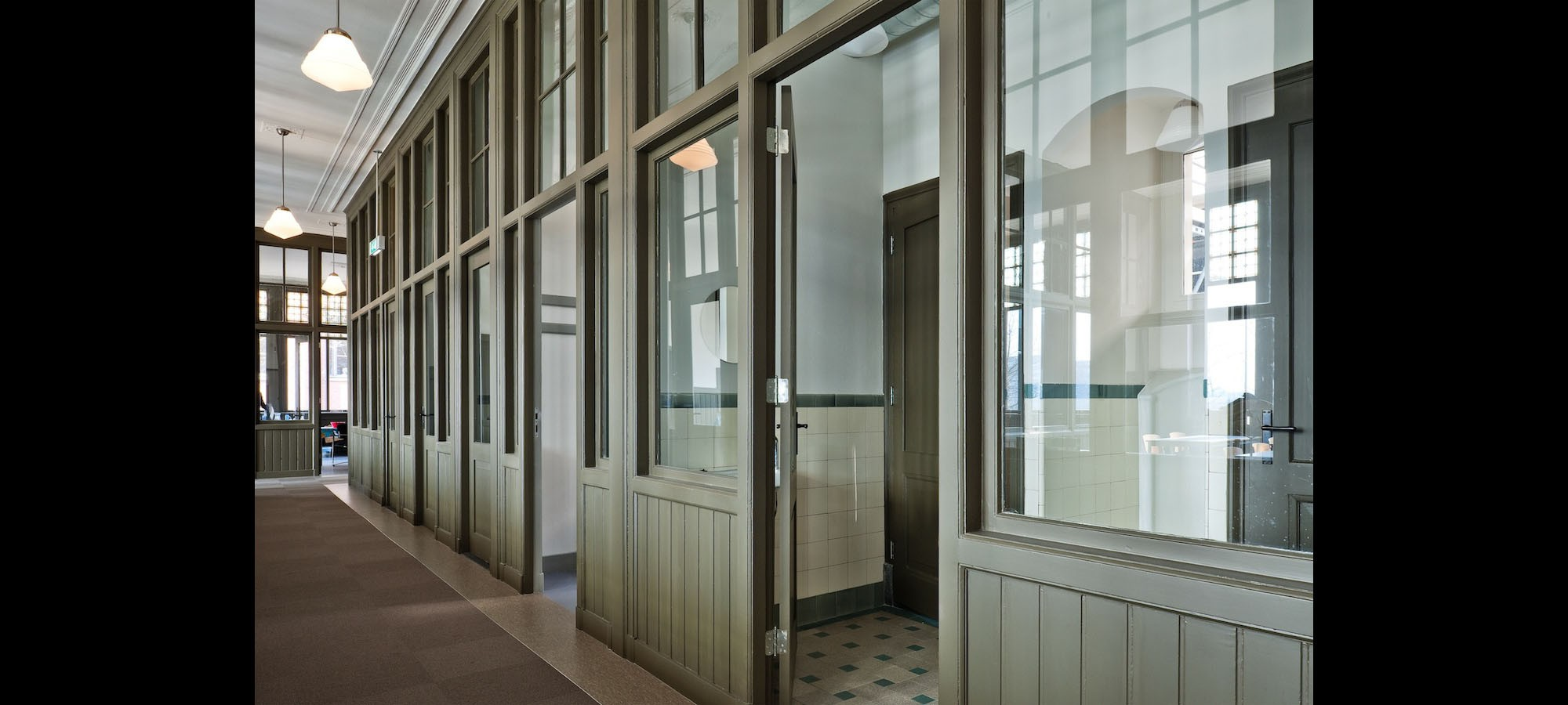 Ten Hope, Kantoren en Lyceum, voormalige pepermuntfabriek, Rotterdam  © drost + van veen architecten bv