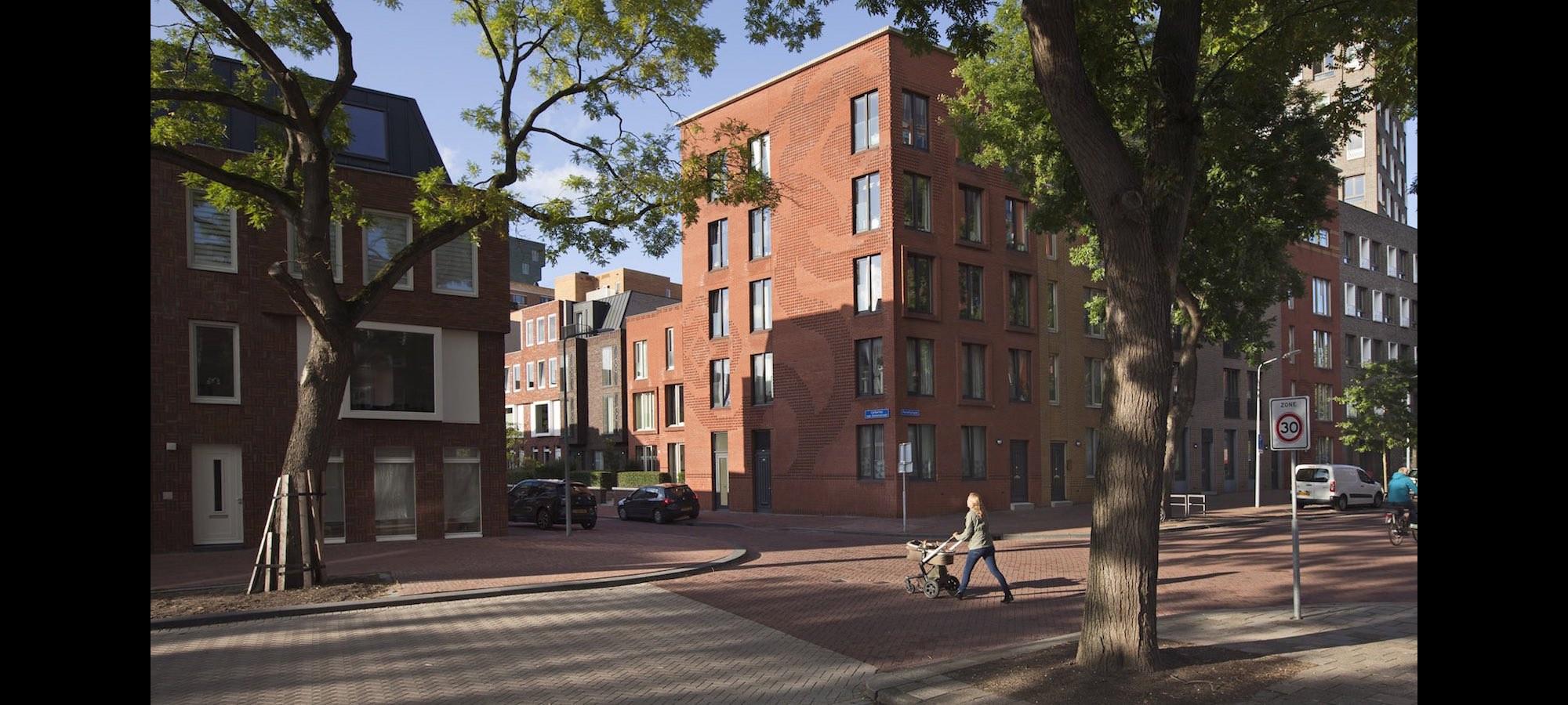 Nieuw Crooswijk, woningen, Rotterdam